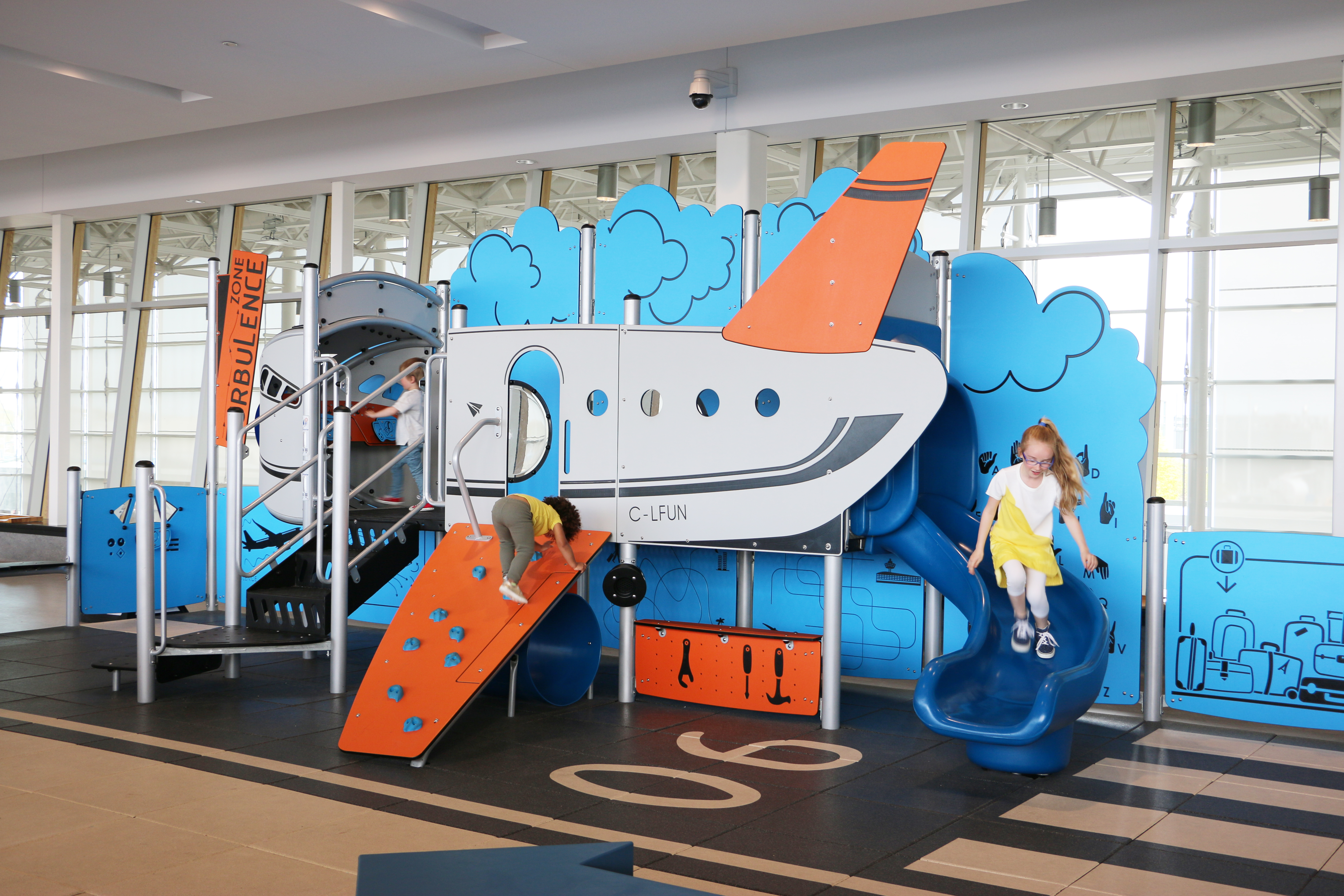 Play area - Turbulence zone